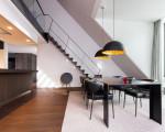 1_Umbau_Wohnung_Muenchen_Alter Hof_Wohnen_Essen_Stahltreppe