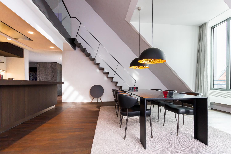 umbau einer dachgeschosswohnung m13 architekten. Black Bedroom Furniture Sets. Home Design Ideas