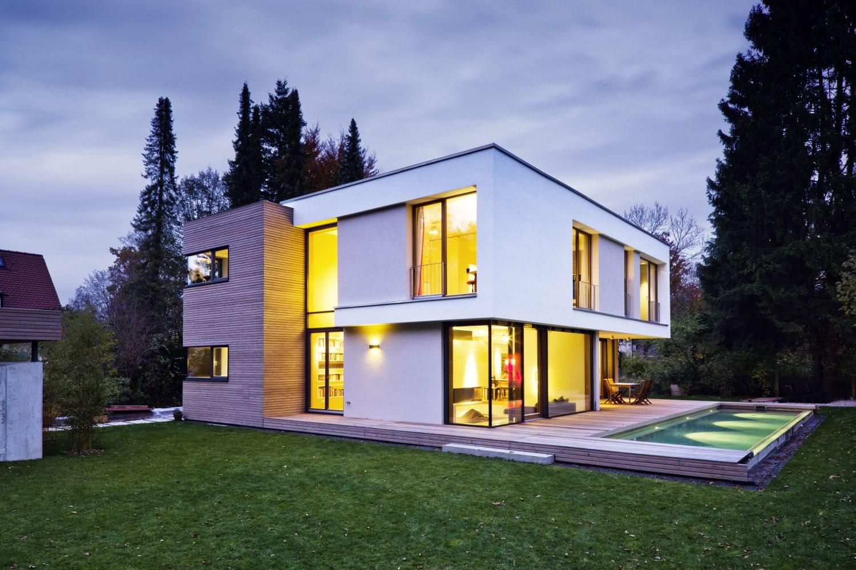 Architekt München Einfamilienhaus m13 architekten gerth uhl selbertinger