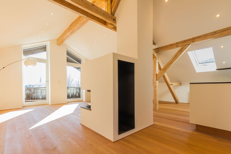 sanierung eines einfamilienhauses mit garage m13 architekten. Black Bedroom Furniture Sets. Home Design Ideas